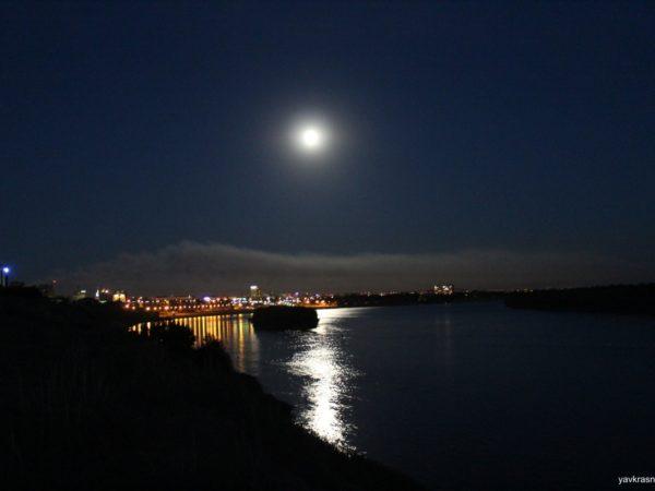 Луна в Павлодаре