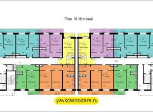 ЖК Гарант 16-18 этажи