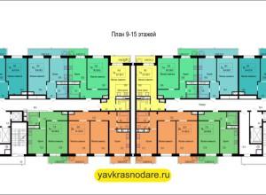 ЖК Гарант 9-15 этажи