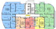 ЖК Аквамарин, 19-21 этаж 1 подъезд