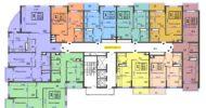 ЖК Аквамарин, 2-18 этаж 2 подъезд