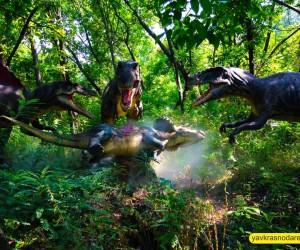 Динозавры в Динопарке