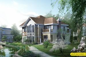 Фанагорийская усадьба кирпичный дом