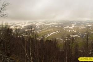 ЛагоНаки снег в горах