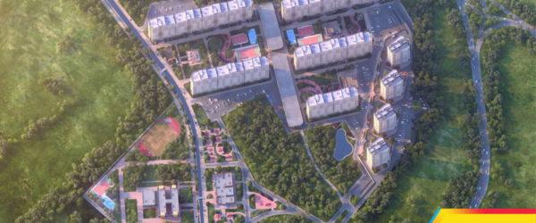 ЖК «Сказка Град» панорама